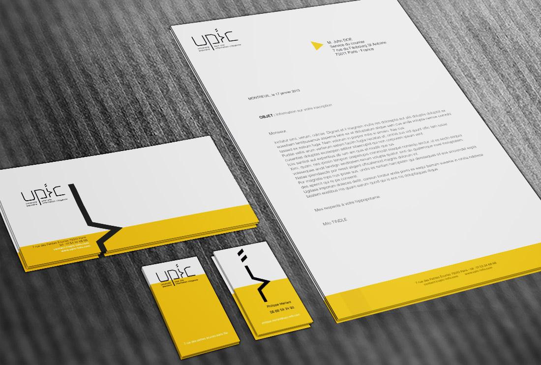 Upic alex ly design graphic data design - Lettre restitution caution avec retenue ...